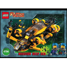 LEGO Alpha Team Command Sub Set 4794 Instructions