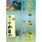 LEGO Alpha Team Jet Sub Set 1425 Instructions