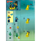 LEGO Alpha Team Robot Diver Set 4790 Instructions
