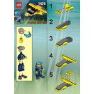 LEGO Alpha Team Wing Diver Set 1426 Instructions