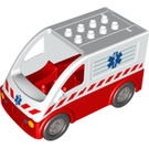 LEGO Ambulance 5 x 10 x 4,5 Assembly (58233)