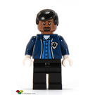LEGO Ambulance Driver with EMS Star of Life Emblem Minifigure