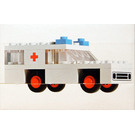 LEGO Ambulance Set 600-1