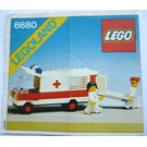 LEGO Ambulance Set 6680 Instructions