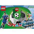 LEGO Americas Team Bus Set 3406 Instructions