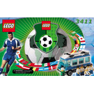 LEGO Americas Team Bus Set 3411 Instructions