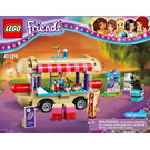 LEGO Amusement Park Hot Dog Van Set 41129 Instructions