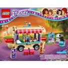 Lego Friends Hot Dog Van Instructions