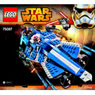 LEGO Anakin's Custom Jedi Starfighter Set 75087 Instructions