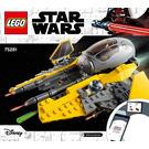 LEGO Anakin's Jedi Interceptor Set 75281 Instructions
