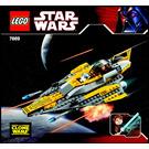 LEGO Anakin's Jedi Starfighter Set 7669 Instructions