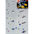 LEGO Anakin's Podracer Set 30057 Instructions