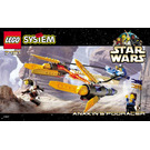 LEGO Anakin's Podracer Set 7131 Instructions