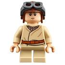 LEGO Anakin Skywalker with Short Legs and Aviator Cap Minifigure