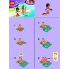 LEGO Andrea's Beach Lounge  Set 30114 Instructions