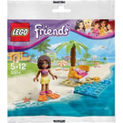 LEGO Andrea's Beach Lounge  Set 30114 Packaging