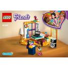LEGO Andrea's Bedroom Set 41341 Instructions