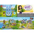 LEGO Andrea's Bunny Cube Set 41666 Instructions
