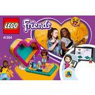 LEGO Andrea's Heart Box Set 41354 Instructions