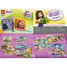 LEGO Andrea's Play Cube - Singer Set 41400 Instructions