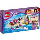 LEGO Andrea's Speedboat Transporter Set 41316 Packaging