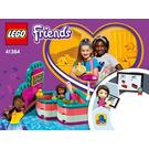 LEGO Andrea's Summer Heart Box Set 41384 Instructions