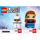 LEGO Anna & Olaf Set 41618 Instructions