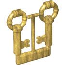 LEGO Antique Keys (2 on Sprue) (40236 / 40359 / 62808)