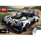 LEGO App-Controlled Top Gear Rally Car Set 42109 Instructions