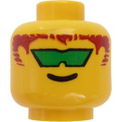 LEGO Aquanaut 2 Head (Safety Stud) (3626)