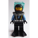 LEGO Aquaraider Diver with Light Brown Beard Minifigure