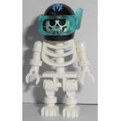 LEGO Aquazone Diver Skeleton Minifigure