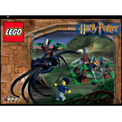 LEGO Aragog in the Dark Forest Set 4727 Instructions