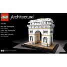 LEGO Arc de Triomphe Set 21036 Instructions
