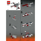 LEGO ARC Fighter Set 6967 Instructions