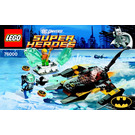LEGO Arctic Batman vs. Mr. Freeze: Aquaman on Ice Set 76000 Instructions