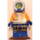 LEGO Arctic Explorer, Male with Snowshoes and Green Goggles Minifigure