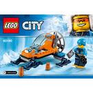 LEGO Arctic Ice Glider Set 60190 Instructions