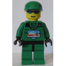 LEGO Arctic Male, Green Outfit Minifigure