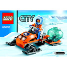 LEGO Arctic Snowmobile Set 60032 Instructions