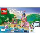 LEGO Ariel, Aurora, and Tiana's Royal Celebration Set 41162 Instructions