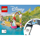 LEGO Ariel's Celebration Boat Set 43191 Instructions