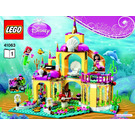 LEGO Ariel's Undersea Palace Set 41063 Instructions