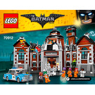 LEGO Arkham Asylum Set 70912 Instructions