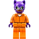 LEGO Arkham Catwoman with Orange Jumpsuit Minifigure