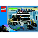 LEGO Armoured Car Action Set 7033 Instructions
