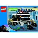LEGO Armoured Car Action Set 7033 Instructions