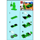 LEGO Army Jeep Set 30071 Instructions