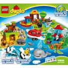 LEGO Around the World Set 10805 Instructions