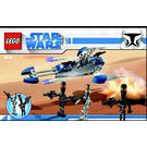 LEGO Assassin Droids Battle Pack Set 8015 Instructions
